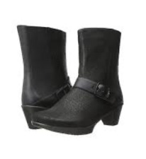 NIB NAOT REFLECT Black Crackle Mid Calf Boots Womens EU 36  US 5 - 5.5 M