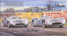 1954d Mercedes Benz W196 optimizada, Reims F1 Cubierta Firmado Hans Herrmann