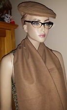 vintage Mint boy's wool lined cap and scarf Delta Sport