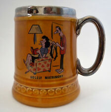 """Lord Nelson Pottery Mug """"Holely Matrimony"""" Hand-Crafted in England VGC"""