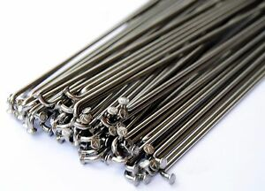 BMX Bicycle Stainless Steel Spokes 14G 2.0mm 75 count 195mm