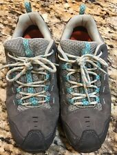 Merrell Zeolite Serge Womens Trail Hiking Shoes Castle Rock Lagoon Size 9 Eur 40