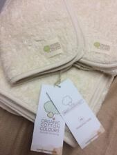 Organic Cotton 100% Natural Undyed Vegan Skin Allergies Face Towel Towels Small