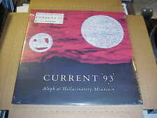 LP:  CURRENT 93 - Aleph At Hallucinatory Mountain 2xLP SEALED NEW NWW