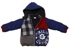 Child Champ Boys Thick Japan's Winter Hooded Jacket Cosy Layers Fits 4-5yo