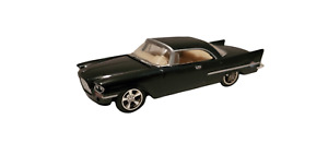 1957 Chrysler 300C Black Tan M2 Machines Diorama 50's Muscle Die-Cast Car 1:64