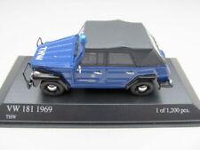 + VOLKSWAGEN VW 181 Kübel von Minichamps in 1:43  *THW*       400050091    NEU
