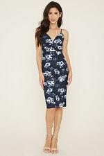 Forever 21/Sarah LA NWT Floral Knee Length Bodycon Dress, Sm