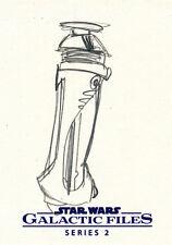 Star Wars Galactic Files Series 2 Sketch Card Lance Sawyer
