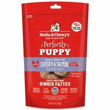 Stella and Chewy's Freeze-Dried Raw Chicken Salmon Patties for Puppies 14 ounce