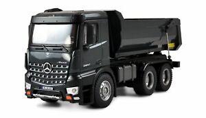 Mercedes LKW Kipper PRO V2 Metall 2,4GHz RTR grau mit 2 Akkus
