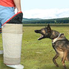 Durable Dog Training Leg Sleeve for POLICE Dogs SCHUTZHUND Bite Toy Jute US