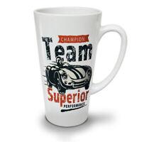 Supercar NEW White Tea Coffee Latte Mug 12 17 oz | Wellcoda