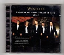 (HX281) Westlife, Unbreakable, The Greatest Hits Vol 1 - 2002 CD
