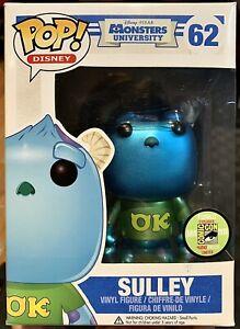 Funko Pop! Dinsey- Sulley (Metallic)#62-Monsters University-2013 SDCC Exclusive
