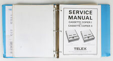 TELEX CARAMATE SERIES 4000 PROJECTORS C130/C140/OTHERS SERVICE MANUALS COMPLETE