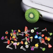 Compatible with iPhone 10pcs Earphone Limited Dust Plug Dachshund New Cute fruit