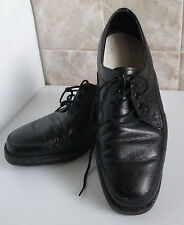 Julius Marlow Black Lace Up Formal Shoes Size 7 EEE Leather Uppers Shoe