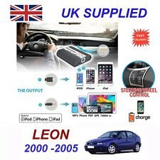 For Seat Leon iPhone 5 6 7 8 10 SE mp3 Aux Digital Audio CD Changer Module 8pin