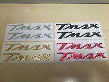 cp. adesivi stickers yamaha tmax t max resinati 3d vari colori