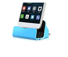 Micro USB Desktop Charger Docking Station for Huawei MediaPad T1 10 Blue