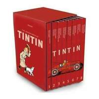 The Adventures of Tintin 8 Books Set Collection Box Set Hardback NEW