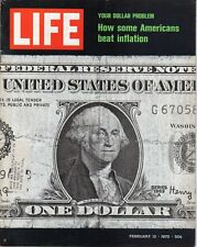 LIFE Feb 13 1970 Weekly English, Inflation, John Mitchell, Jacqueline Bisset