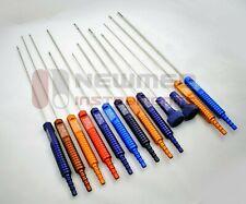 Liposuction Cannula Set of 13 PCS Fixed Handle