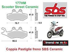 177HM - Pastiglie Freno Anteriori SBS Ceramic per PIAGGIO X10 350 dal 2012 >2013