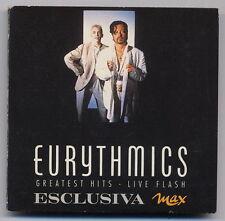 EURYTMICS greatest hits live flash - 5 live unre. tracks mini MAX CD 1991 -CD314