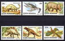 Animaux Préhistoriques Roumanie (18) série complète 6 timbres oblitérés