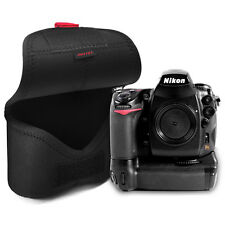 MATIN Neoprene D-SLR Camera+Battery Grip Soft Body Case Pouch Bag Ver.2 XL/Black