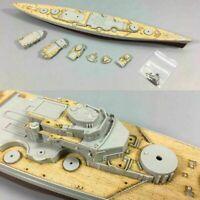 Holzdeck Wooden Deck Kit für 1/700 Trumpeter Germany Bismarck Battleship Modell