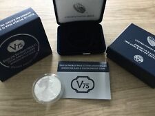 🇺🇸End of World War II 75th Anniversary American Eagle 1oz Silver Proof Coin.