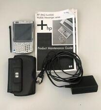 Hp iPaq Hw6515a Pocket Pc Mobile Messenger Handheld Cingular Works Factory Reset