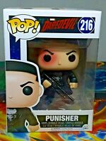 Punisher #216 Vinyl Bobble-Head Marvel Daredevil Funko Pop Figure Aus Seller
