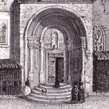 Eglise de Saint Sever Abbatiale Guillaume Sanche St Jacques Compostelle Landes