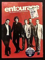 Entourage: The Complete Fourth Season DVD 3 Disc Set 2008 HBO Series New Sealed