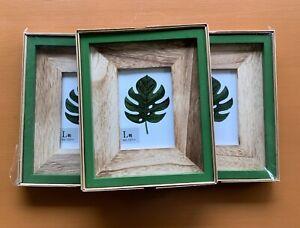 Green Wooden frame Photo frames