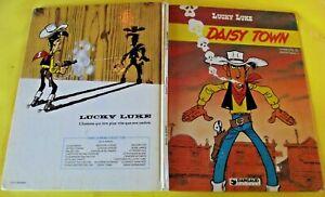 LUCKY LUKE ancien album cartonner DAISY TOWN