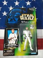 Kenner Star Wars Power Of The Force Luke Skywalker Stormtrooper Action Figure