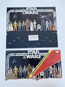 Kenner Star Wars Early Bird Certificate Display Stand Envelope Kit Holy Grail 77