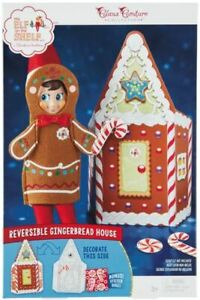 NEW Elf on the Shelf Jolly Gingerbread 3pc Activity Set Claus Couture Collection