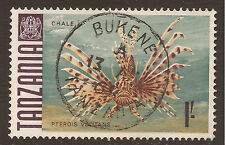Fish Used African Stamps