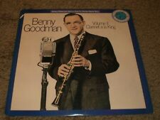 Benny Goodman Volume II Clarinet A La King~1987 Swing Jazz~VG++ Vinyl~FAST SHIP!