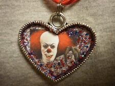 Clown Pennywise Heart Style Horror Necklace Stephen Kings It Novelty Jewelry