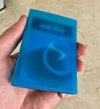 BLUE PLASTIC BUSINESS CARD HOLDER Credit Cards Loyalty Cards