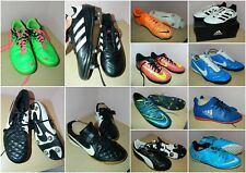 kids/adults futsal/astro/metal studs football trainers boots * choose your size
