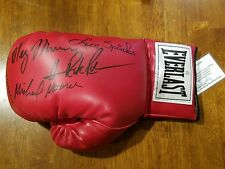 heavyweight champions International Boxing Hall of Fame signed glove, Ray Mercer
