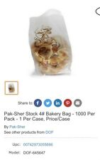 Pak-Sher Bakery Bags 1000 Count